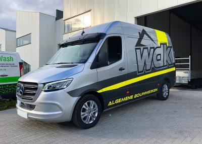 Autoreclame Autobelettering Bestelwagen Belettering Mercedes Sprinter WDK F2