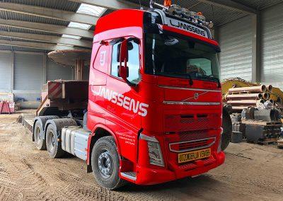 Autoreclame Autobelettering Vrachtwagen Belettering L Janssens