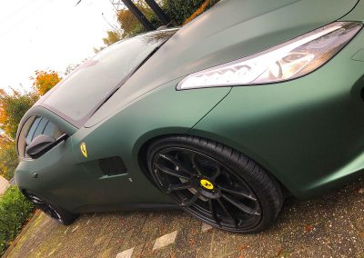 Carwrapping Color Change Ferrari GTC4Lusso