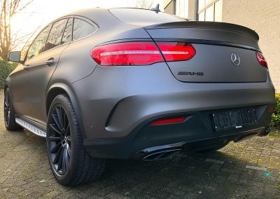 Carwrapping Color Change Mercedes Benz GLE Coupé AMG
