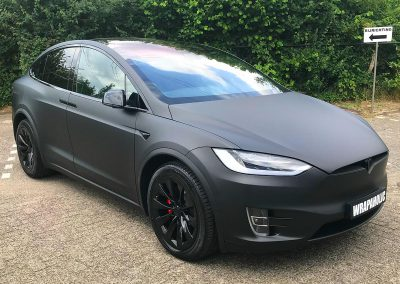 Carwrapping Color Change Tesla Model X