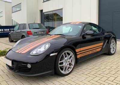 Carwrapping Special Wrap Striping Porsche Cayman