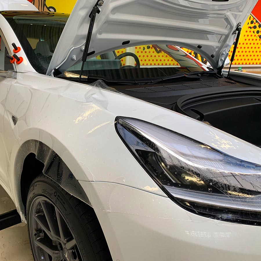 Paint Protection Xpel PPF Tesla Model 3